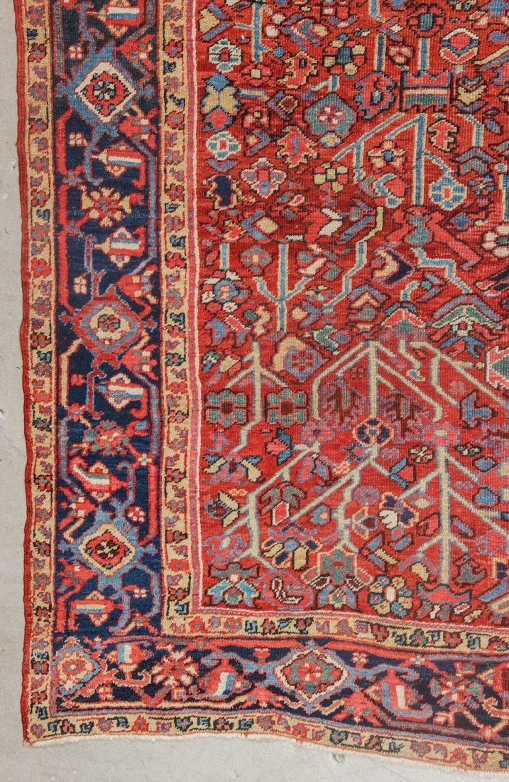 Antique Heriz Rug: 8'6'' x 9'8'' (259 x 295 cm) - 2