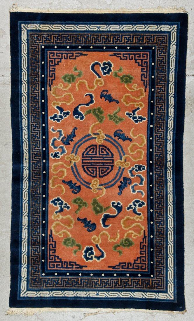Chinese Peking Rug: 3'0'' x 5'0'' (91 x 152 cm)