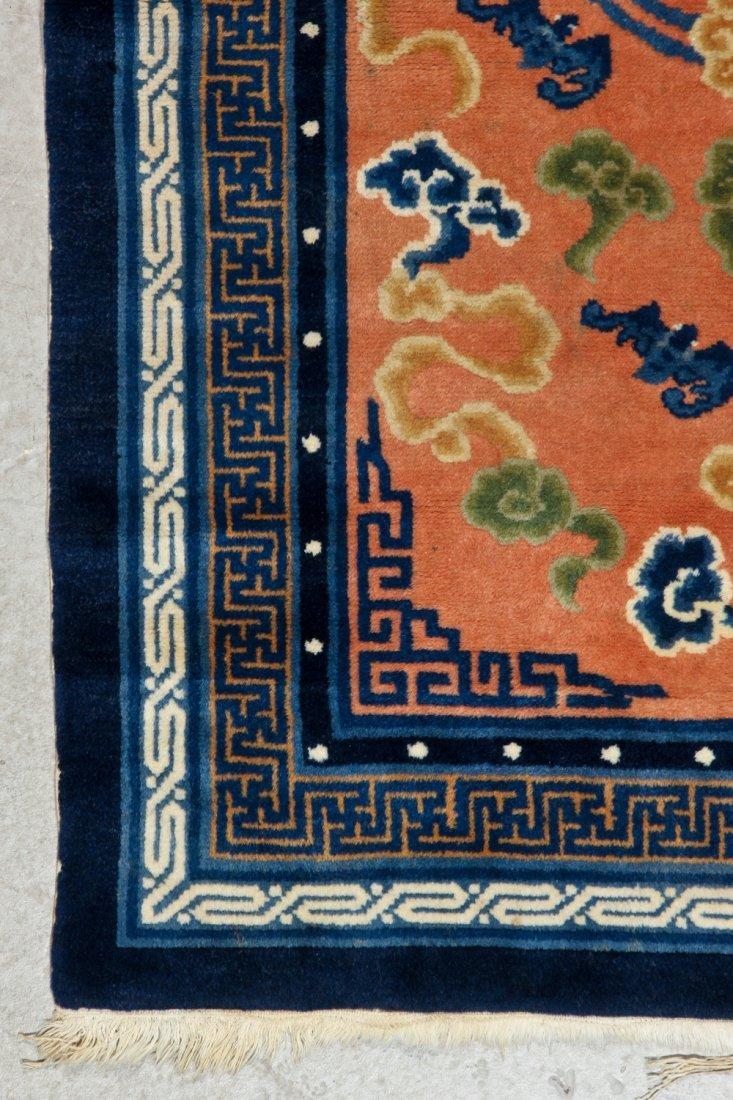 Chinese Peking Rug: 3'0'' x 5'0'' (91 x 152 cm) - 2