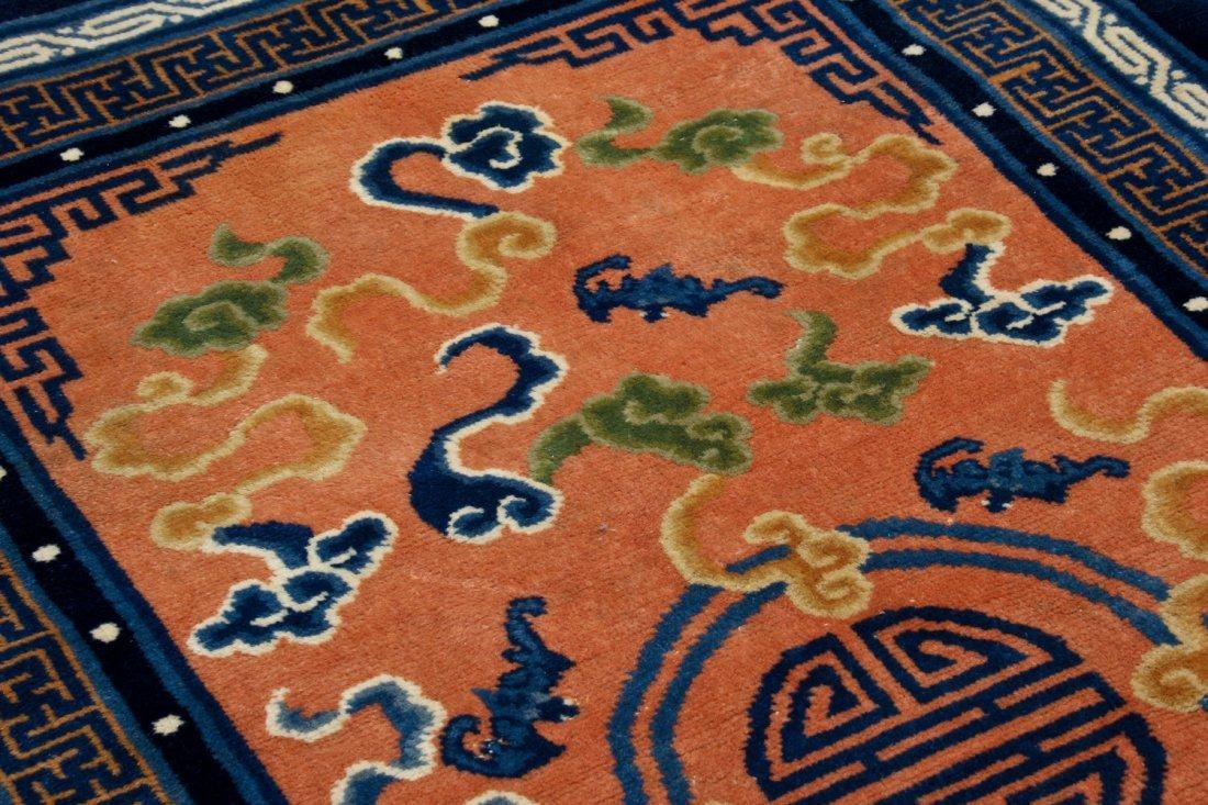 Chinese Peking Rug: 3'0'' x 5'0'' (91 x 152 cm) - 3