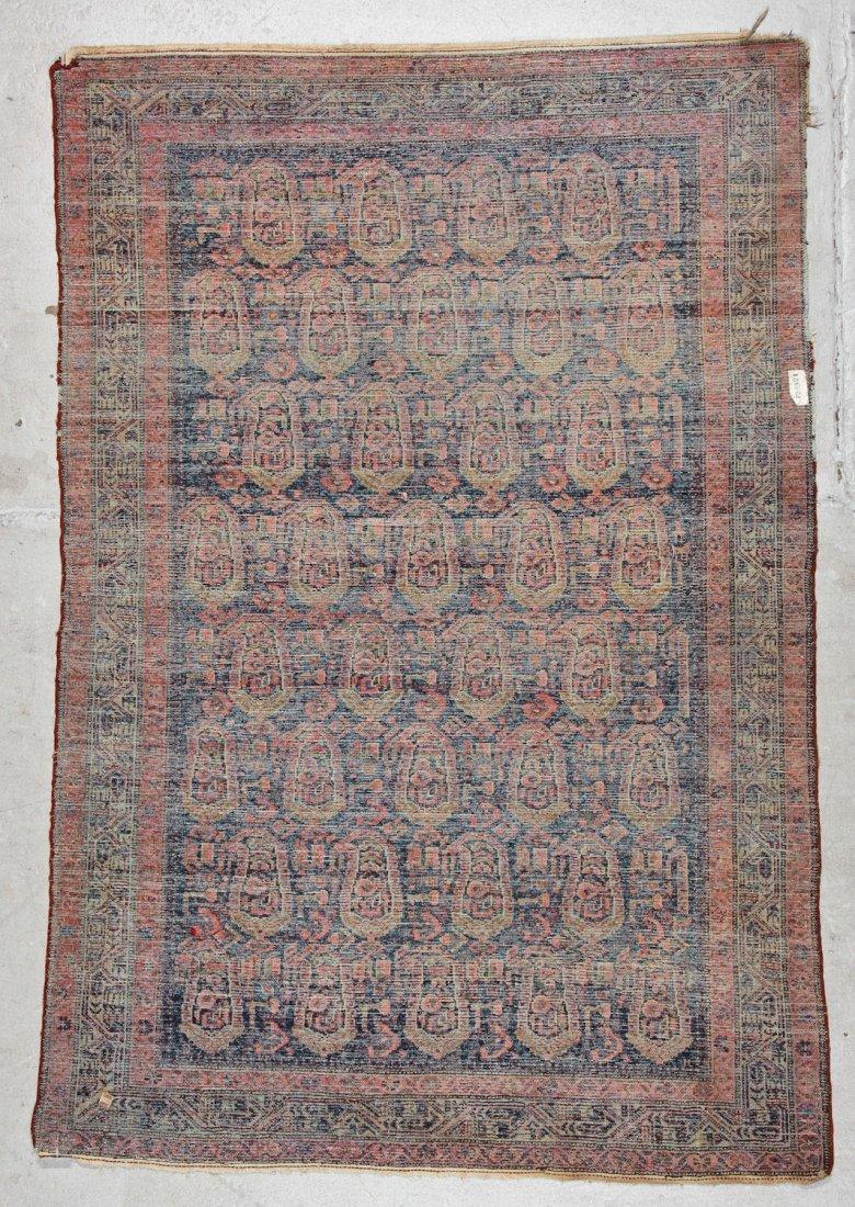 Antique Malayer Rug: 4'7'' x 6'9'' (140 x 206 cm) - 6