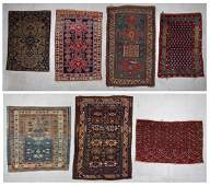 Estate Collection of 7 Antique Rugs
