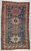 Antique Sumak Rug: 4'5'' x 7'2'' (135 x 218 cm)