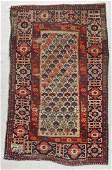 Antique Shirvan Rug: 3'2'' x 4'11'' (97 x 150 cm)