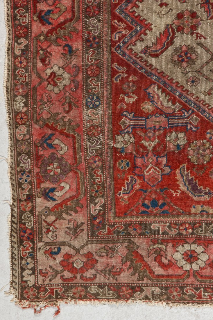 Antique Malayer Rug: 5'1'' x 6'0'' (155 x 183 cm) - 2