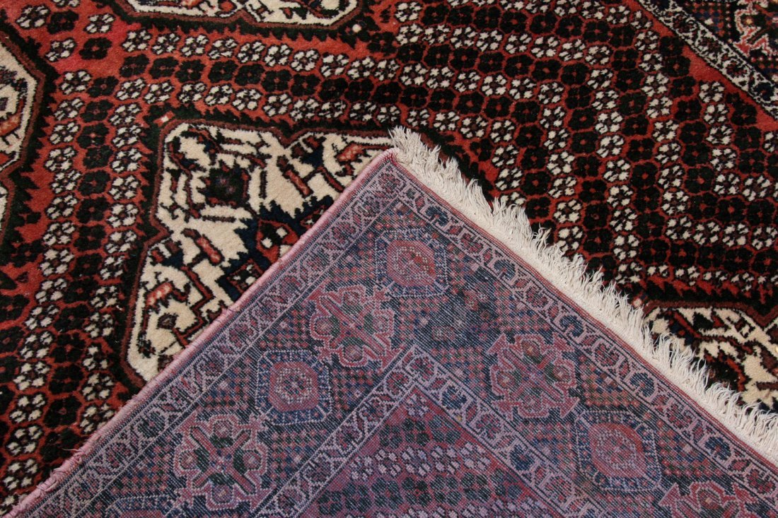 Semi-Antique Afshar Rug: 5'1'' x 6'3'' (155 x 191 cm) - 4