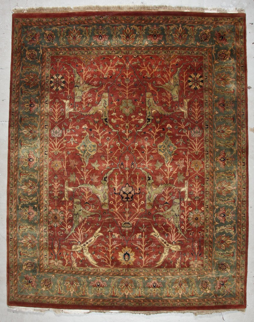 Vintage Agra Rug: 8'1'' x 10'0'' (246 x 305 cm)