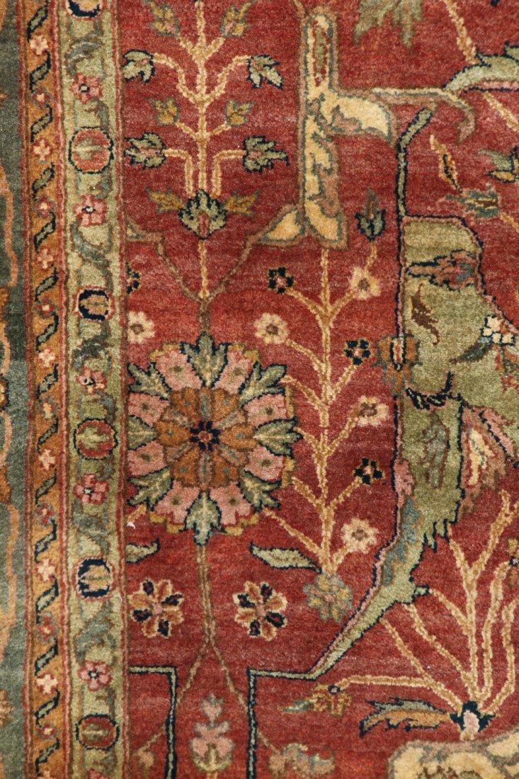 Vintage Agra Rug: 8'1'' x 10'0'' (246 x 305 cm) - 3