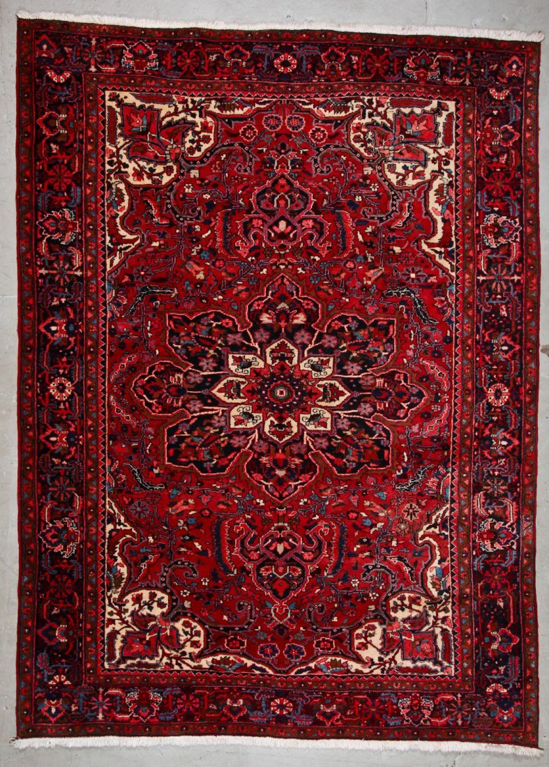 Vintage Heriz Rug: 8'3'' x 11'1'' (251 x 338 cm)