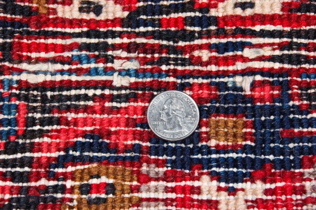 Vintage Heriz Rug: 8'3'' x 11'1'' (251 x 338 cm) - 5