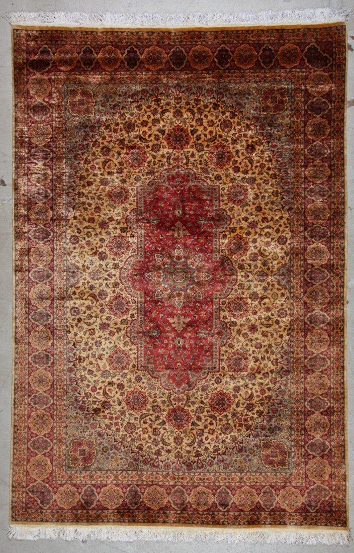 Fine Vintage Indo Persian Rug: 5'11'' x 8'9'' (180 x