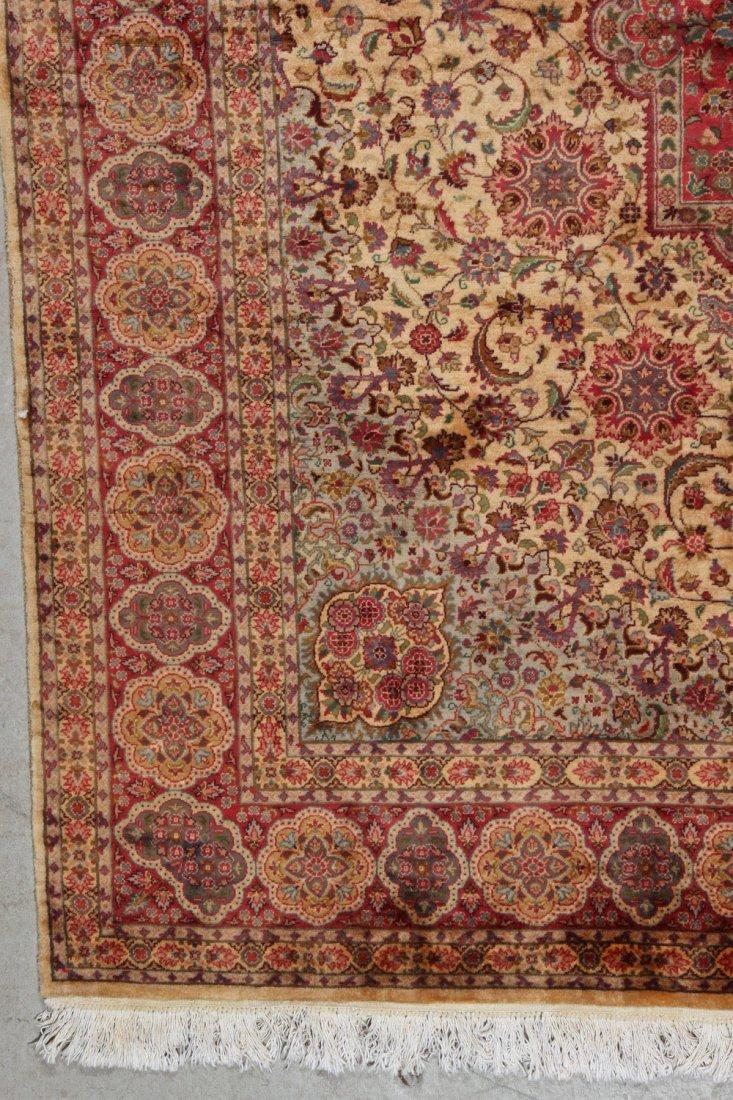 Fine Vintage Indo Persian Rug: 5'11'' x 8'9'' (180 x - 2