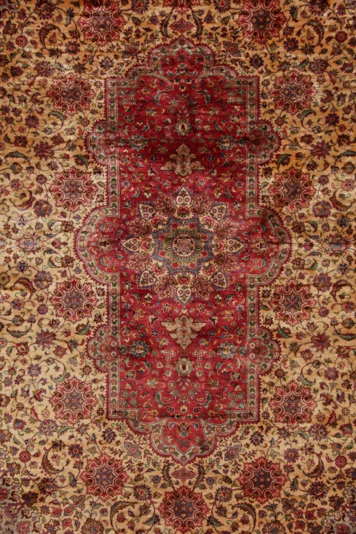 Fine Vintage Indo Persian Rug: 5'11'' x 8'9'' (180 x - 3