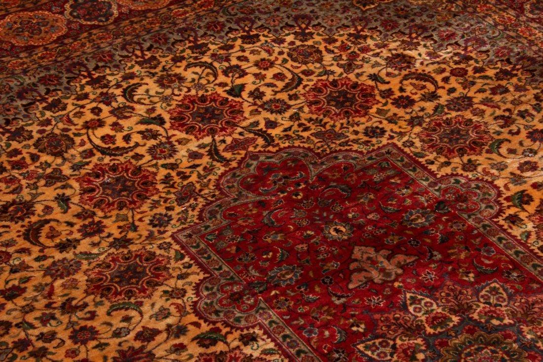 Fine Vintage Indo Persian Rug: 5'11'' x 8'9'' (180 x - 4