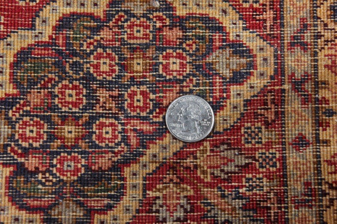 Fine Vintage Indo Persian Rug: 5'11'' x 8'9'' (180 x - 6