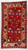 SemiAntique Turkish Rug 35 x 62 104 x 188 cm
