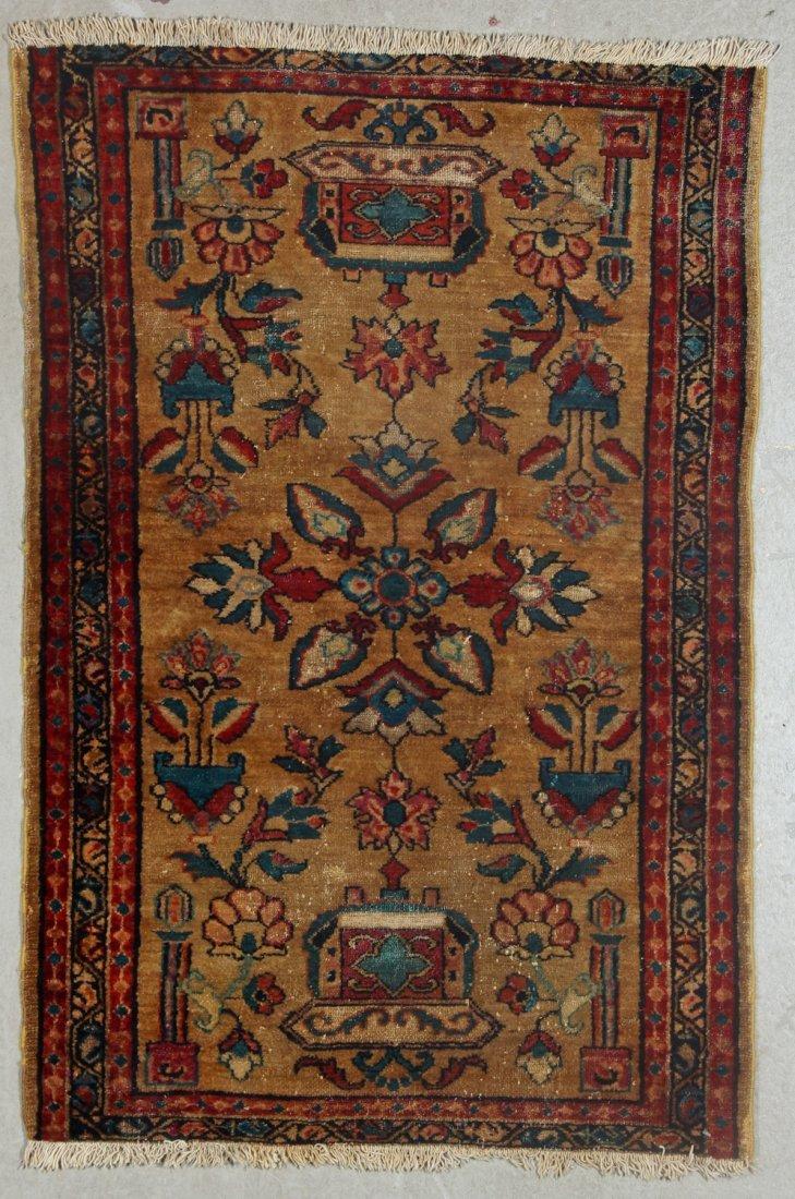 2 Antique Persian Hamadan Rugs - 3
