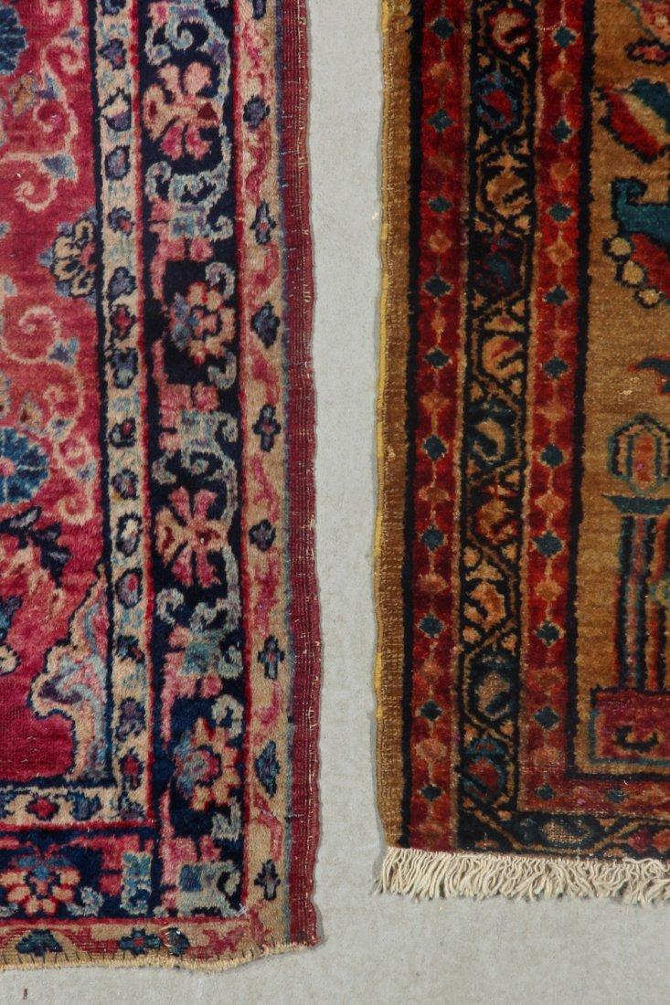 2 Antique Persian Hamadan Rugs - 4