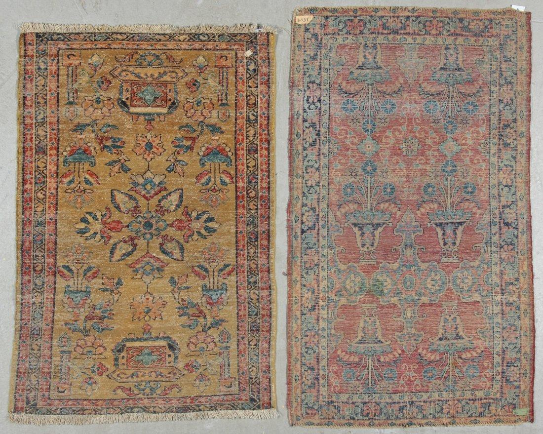 2 Antique Persian Hamadan Rugs - 9