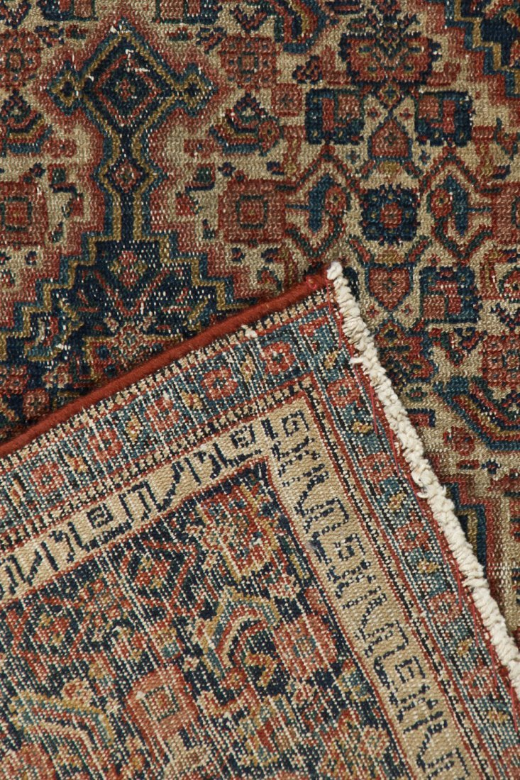 2 Small Antique Lavar and Senneh Rugs - 6