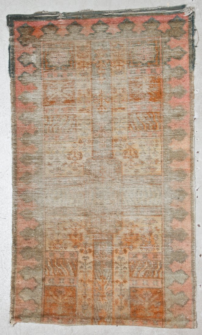 Antique Oushak and Semi-Antique Milas Rugs (2) - 2