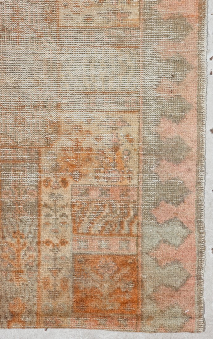 Antique Oushak and Semi-Antique Milas Rugs (2) - 3