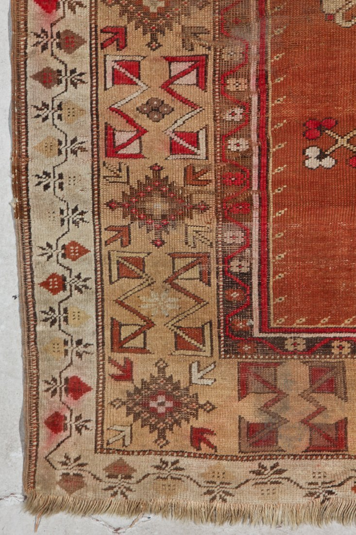 Antique Oushak and Semi-Antique Milas Rugs (2) - 5