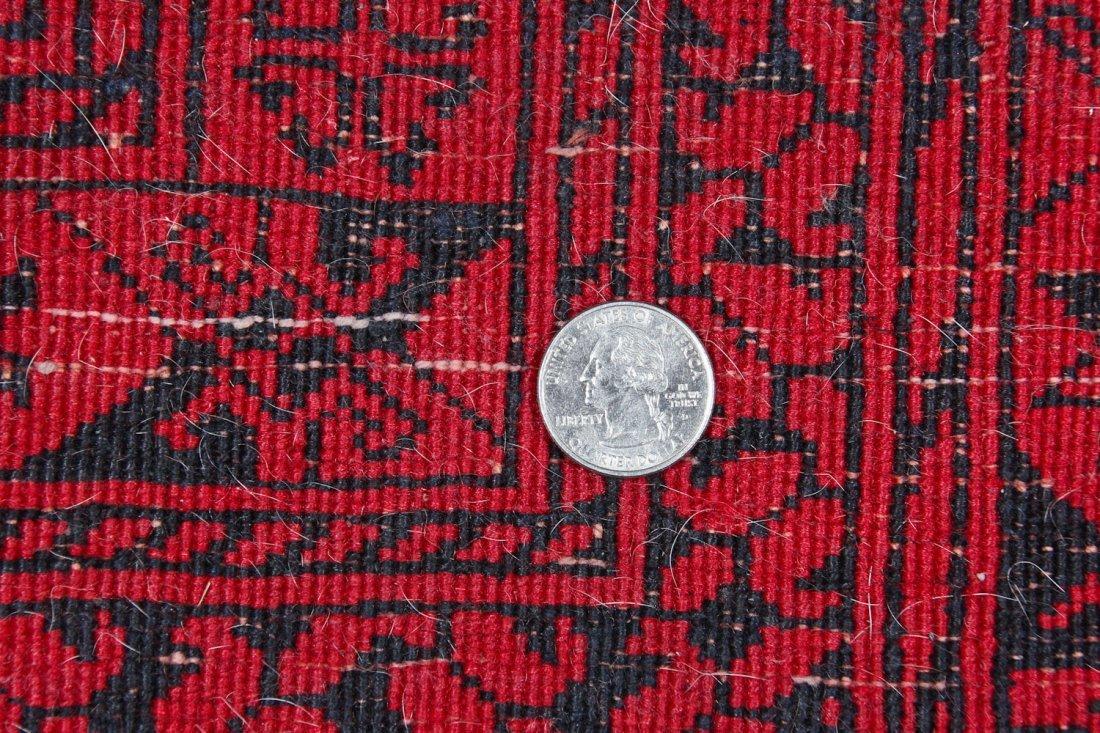 2 Semi-Antique Afghan Main Rugs - 9