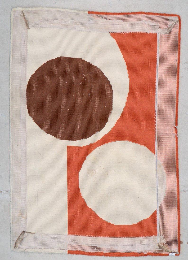 Vintage Mid Century Modern Rug: 3'11'' x 5'7'' (119 x - 6