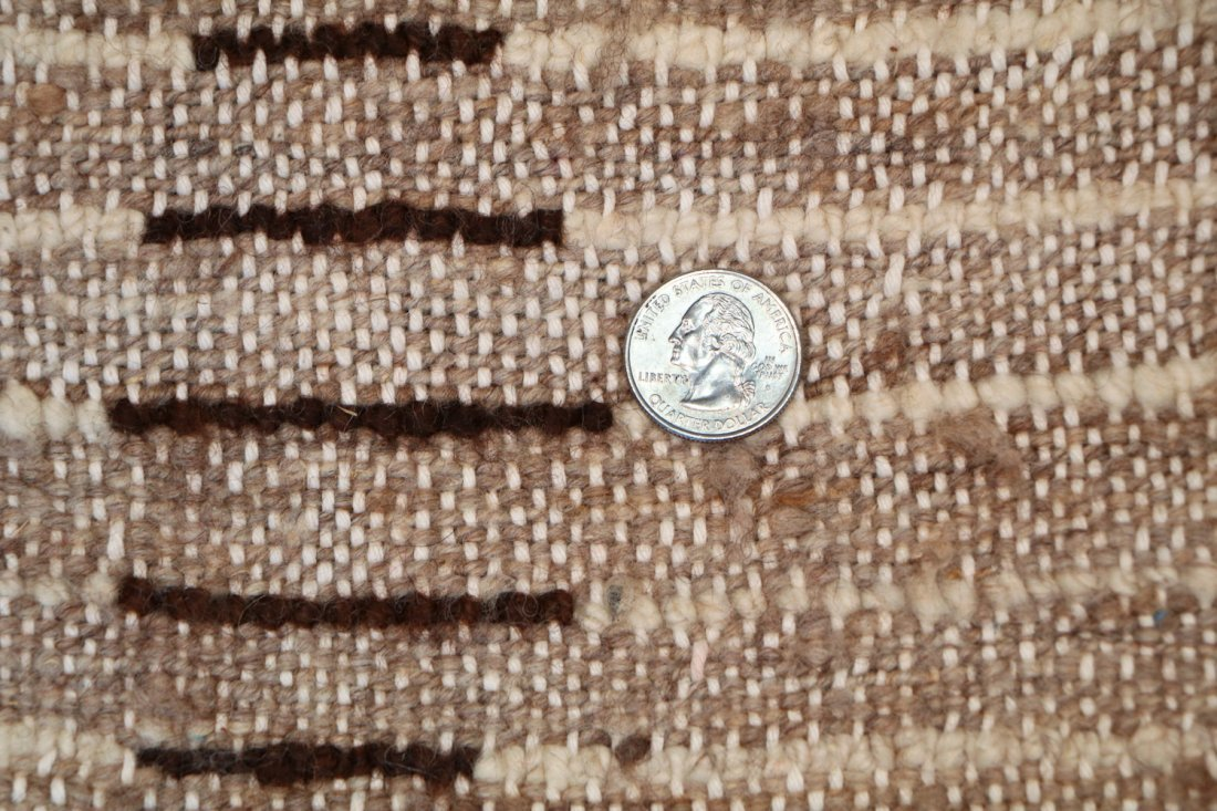 Vintage Beni Ourain Rug: 4'0'' x 8'10'' (122 x 269 cm) - 5