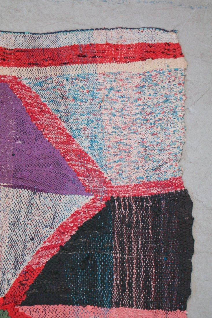 Vintage Moroccan Flatweave: 5'7'' x 10'3'' (170 x 312 - 2
