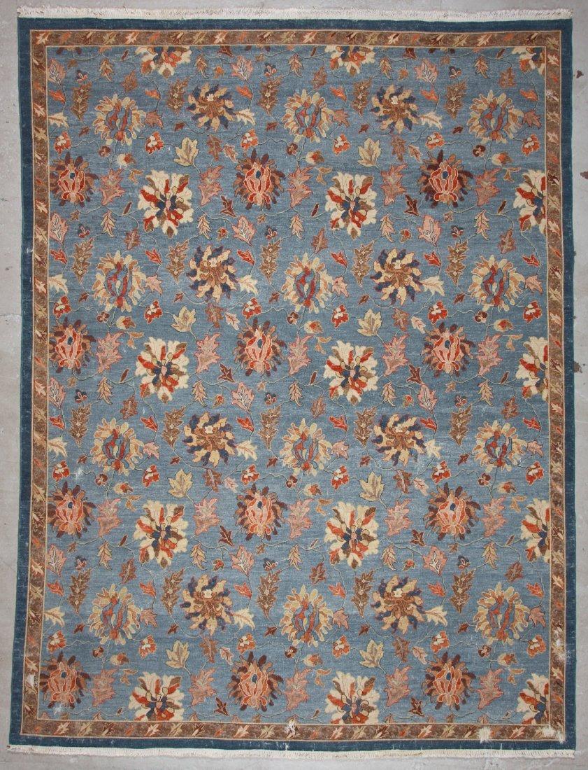 Vintage Sumak Floral Rug: 8'9'' x 11'6'' (267 x 351 cm)