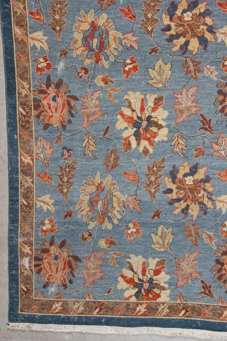 Vintage Sumak Floral Rug: 8'9'' x 11'6'' (267 x 351 cm) - 2