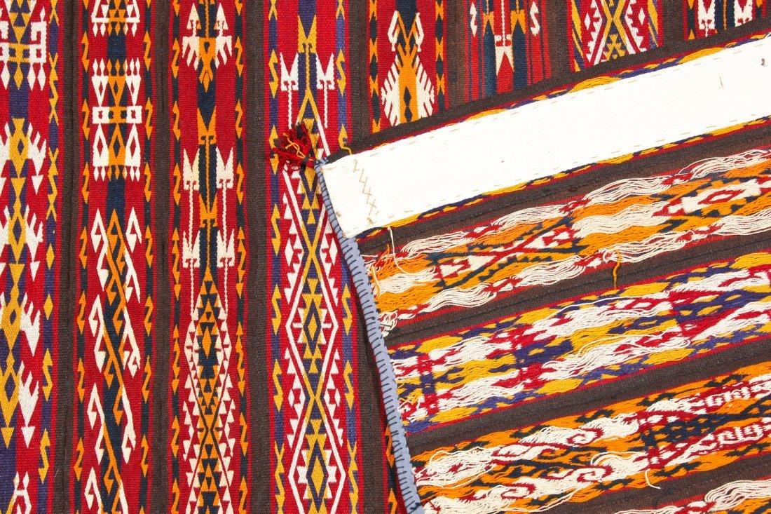 Fine Antique Central Asian Kilim: 5'5'' x 3'4'' (165 x - 3
