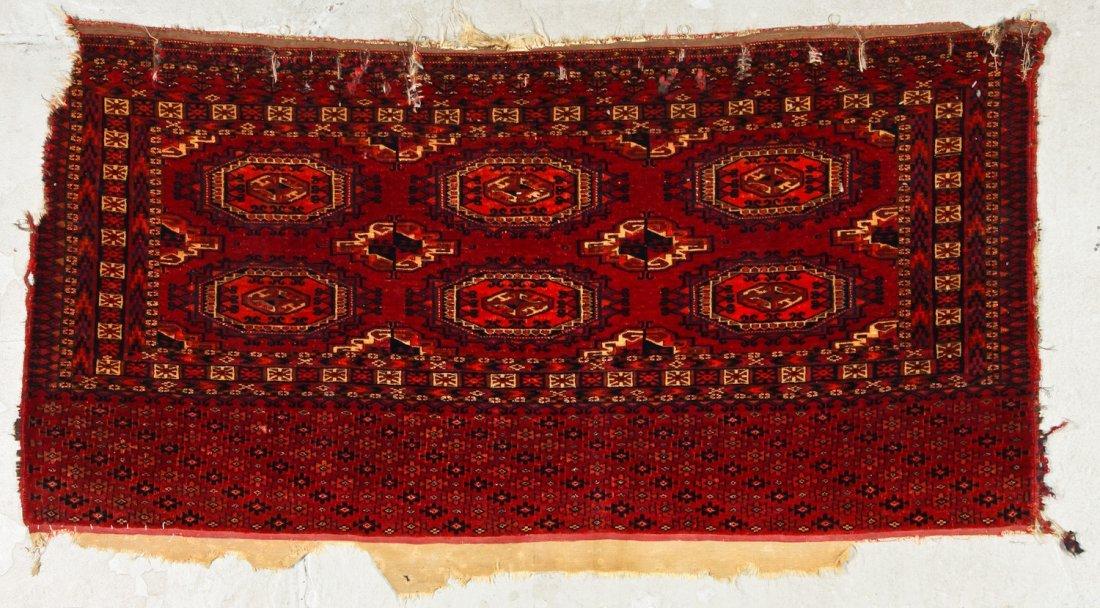 2 Antique Turkmen Salor Juvals - 2
