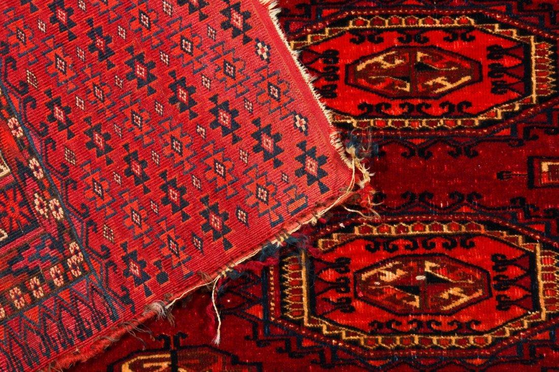 2 Antique Turkmen Salor Juvals - 4