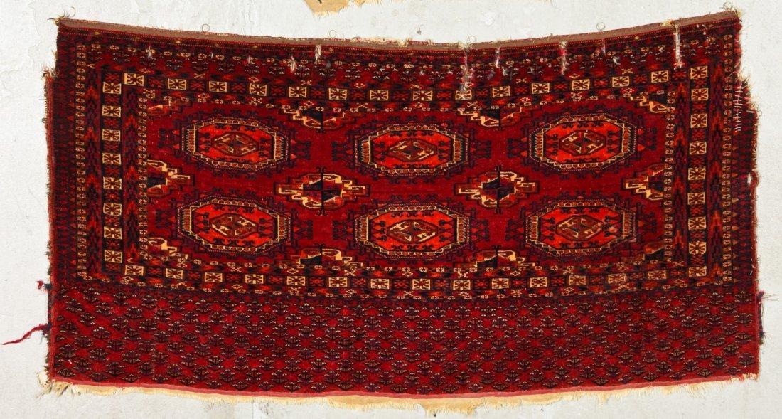 2 Antique Turkmen Salor Juvals - 6
