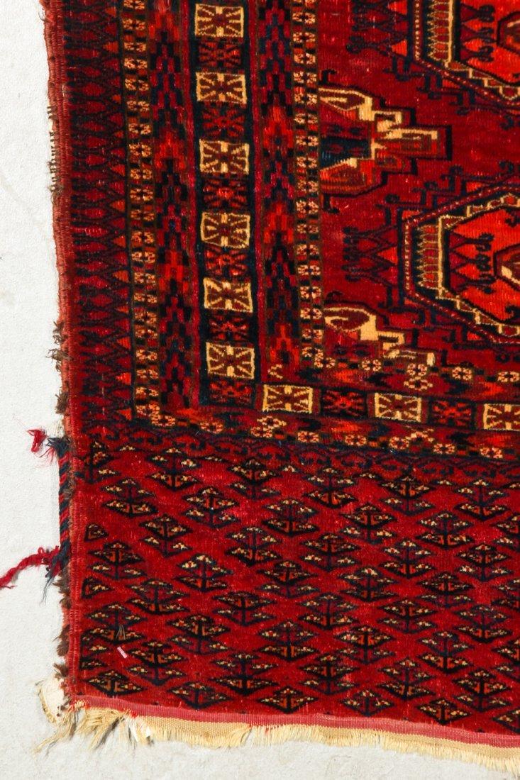 2 Antique Turkmen Salor Juvals - 7