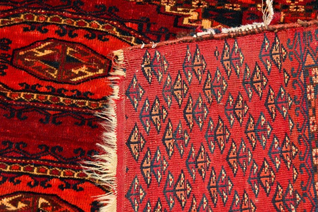 2 Antique Turkmen Salor Juvals - 8