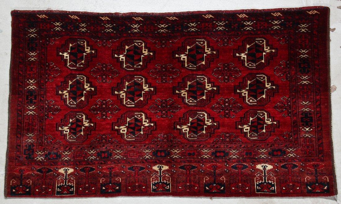 3 Semi-Antique Turkmen Juvals - 2
