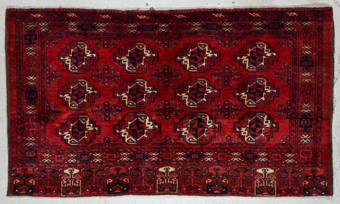 3 Semi-Antique Turkmen Juvals - 3