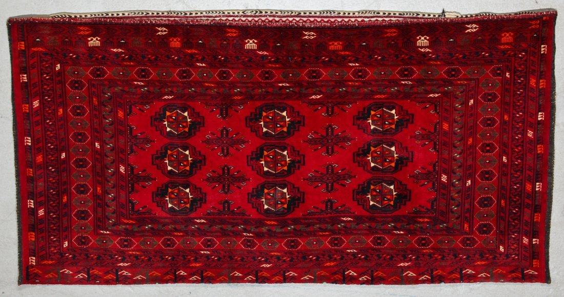 3 Semi-Antique Turkmen Juvals - 4