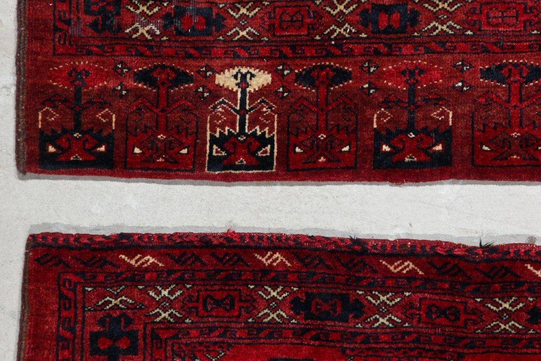 3 Semi-Antique Turkmen Juvals - 5