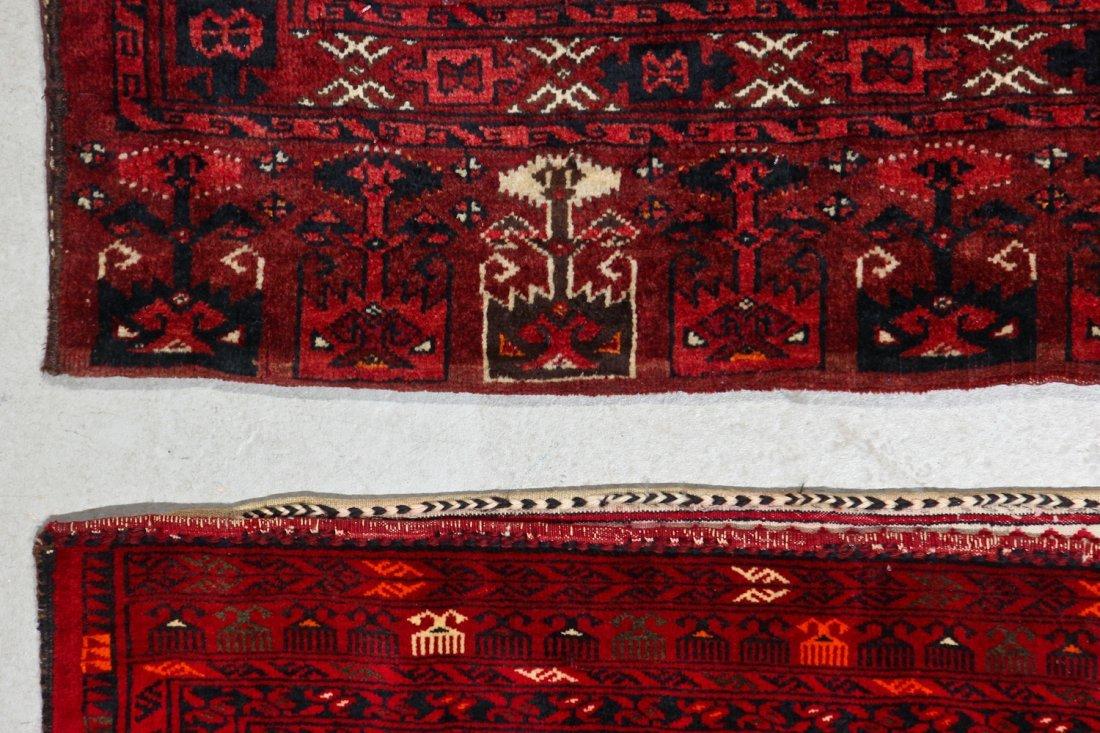 3 Semi-Antique Turkmen Juvals - 6