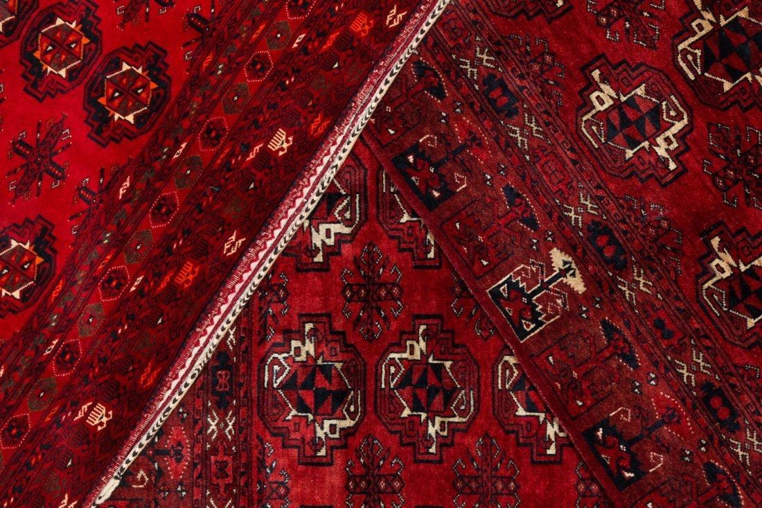 3 Semi-Antique Turkmen Juvals - 7