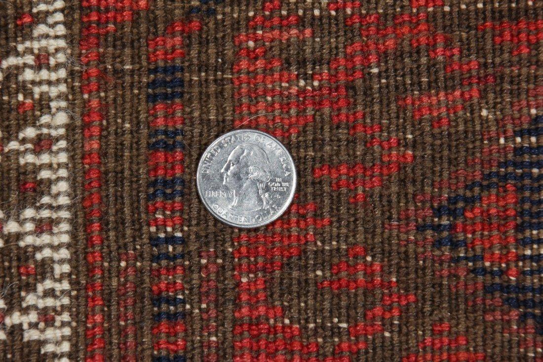 Antique Afghan Beluch Rug: 3'0'' x 5'10'' (91 x 178 cm) - 5