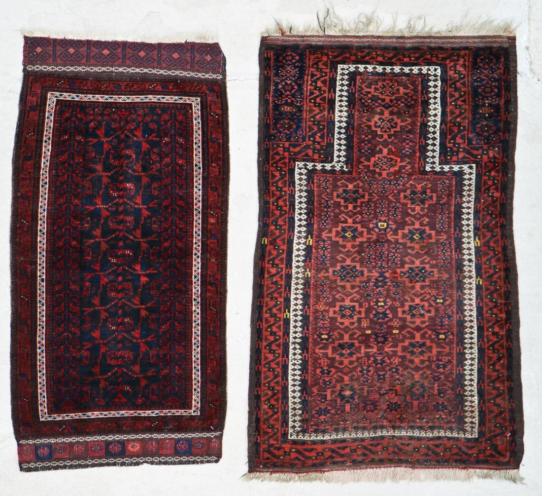 2 Semi-Antique Beluch Rugs