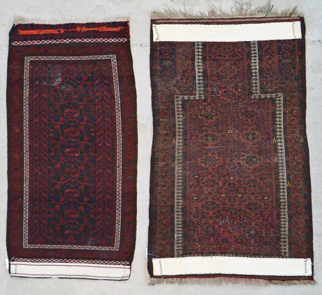 2 Semi-Antique Beluch Rugs - 8