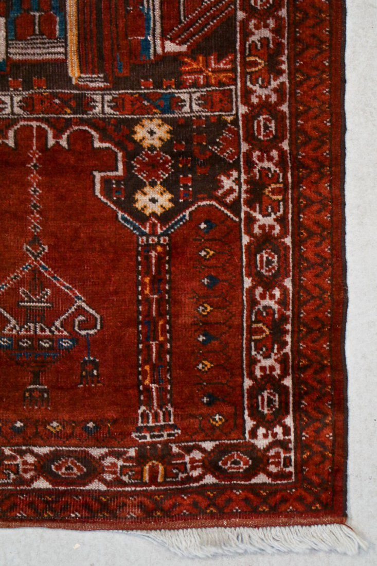 2 Semi-Antique Afghan and Beluch Prayer Rugs - 3