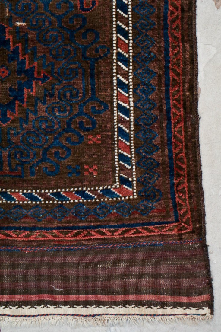 2 Semi-Antique Afghan and Beluch Prayer Rugs - 5